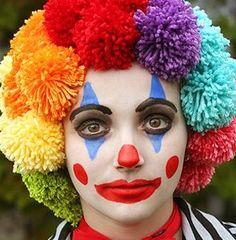 Maquillage Halloween Clown, Clown Halloween, Halloween 2019, Halloween Costumes, Halloween Face Makeup, Clown Face Paint, Cute Clown, Clown Faces, Makeup Academy