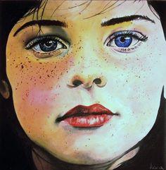 "Saatchi Online Artist Valentina De Chirico; Painting, ""Nessun posto, da nessuna parte"" #art"