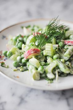 Spring Vegetable Salad   Fed and Fit-28