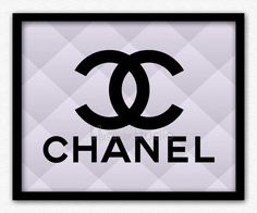 Wall Decor Print  Chanel  Chanel Print  Modern by lulusimonSTUDIO, $15.00