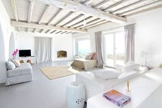 Villa FlorentineLocated in the Fanari area of Mykonos, Villa Florentine boasts striking design, top-class amenities, and spellbinding views over the town and the Aegean Sea. [[MORE]]Spread across two...