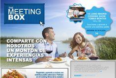 Campanya publicitaria de la Comunitat Valenciana de l'any 2011. A la publicitat apareix un reclam molt important de la comunitat que és el menjar i es convida al turista a viure grans experiències en companyia que van més enllà del reclam del menjar.