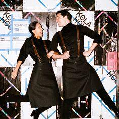 Стиль практичность и комфорт в ресторанной униформе. #restaurant #uniform #waiter #waitress #staff #clothes #fashion #trend #style #apron #ресторан #униформа #официант #официантка #стафф #одежда #мода #тренд #стиль #фартук
