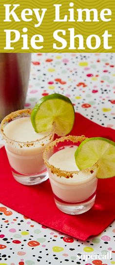Made with key lime juice (it's sweeter and more aromatic than your standard lime juice) and RumChata, this liquid take on the pie also includes whipped cream-flavored vodka to replicate the traditional topping.