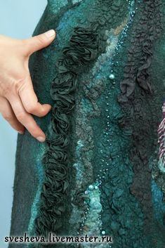 Платье на шелке со сложными фактурами - Ярмарка Мастеров - ручная работа, handmade