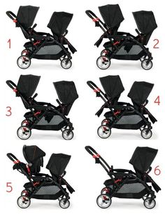Chicco Cortina Together Double Stroller Cubes Chicco