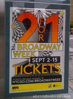 Semana da Pátria e da Broadway. http://abrindoobico.com/2013/08/semana-da-patria-e-da-broadway/