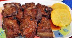 Pinoy Favorite Recipes: Humba Recipe (Braised Pork Belly with Sugar)