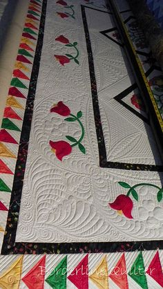 Such beautiful quilting!