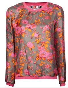 MSGM floral sweatshirt