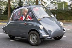 1957 Heinkel Kabine 150 B-0 3-Wheel Bubble Car 174cc Single Cylinder 4-Stroke OHV Fan Air-Cooled 9.2bhp engine