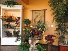 Beautify each room in your house by pretty plants as decoration