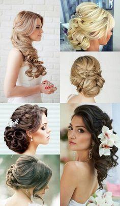 Elegant Wedding Hairstyles ▪ Peinados de boda elegantes ▪ Свадебные прически   AMOUR A MOURE