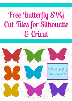 Free Butterfly SVG Cut File- Freebie Friday
