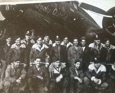 B-17 379th Kimbolton. Lady Astrid. 43-3176
