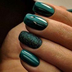 beautiful emerald green nail art designs - page 23 - nail design - # . - beautiful emerald green nail art designs – page 23 – nail design – - Nail Art Designs, Green Nail Designs, Winter Nail Designs, Winter Nail Art, Christmas Nail Designs, Nails Design, Christmas Design, Cute Nails, Pretty Nails