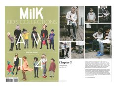 shot for Chapter 2 spotted in MilK Magazine's Kids Collections at Playtime Paris #chapter2kids #artisan #kids #shoes