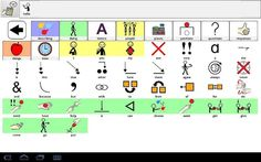 FreeAAC;  experimental AAC Grid Application for Android devices. It comes with a vocabulary of about 2000 words, and you can add new words using your own pictures, or start your own grid from scratch. This App uses the Text To Speech features of Android devices, so you may need to go to Settings, then Language & Input, then Text To Speech, and turn on the text to speech option. Google Play, Go To Settings, New Words, Vocabulary, Grid, Texts, Software, Language, Things To Come