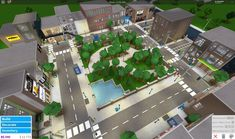 Bloxburg City Two Story House Design, Tiny House Layout, House Layout Plans, Unique House Design, House Layouts, Home Building Design, Building A House, Modern Family House, House Plans With Pictures