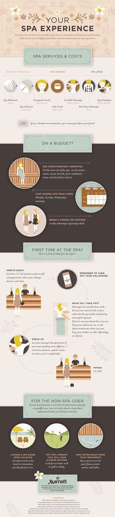 Spa Tips and from Marriott International #MarriottVacay