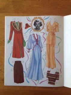 Uncut Myrna Loy 1995 Shackman Paper Dolls   eBay