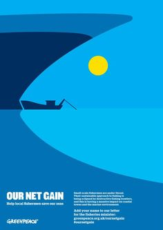 OUR NET GAIN Help local fishermen save our seas Small-scale fishermen are under threat. Their sustainable approach to fishing is being eclipsed by destructive fishing trawlers, and this is having a massive impact on coastal towns and the marine environment. Add your name to our letter for the fisheries minister: greenpeace.org.uk/ournetgain#ournetgain