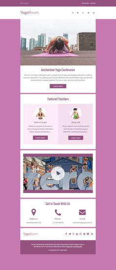 A special collection of in-house designed and coded Master Responsive Email Templates that will help you if you're on a budget and short on time. Html Email Templates, Responsive Email, Budgeting, Store, Creative, Travel, Viajes, Budget Organization, Destinations