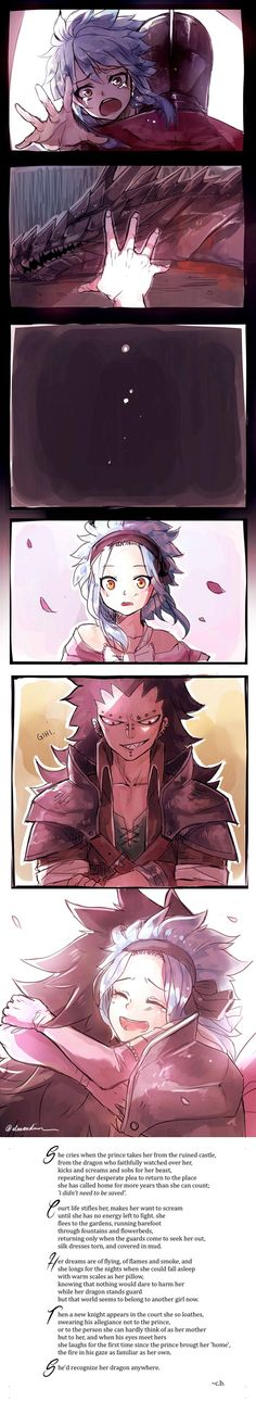 Levy x Gajeel (Fairy Tail)