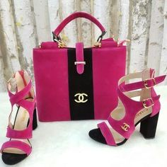 Nadire Atas on Matching Shoes and Bags handbags with matching shoes My Bags, Purses And Bags, Fashion Bags, Fashion Shoes, Fashion Jewelry, Women's Fashion, Shoe Boots, Shoe Bag, Chanel Shoes
