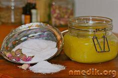 Мед и морская соль против целлюлита