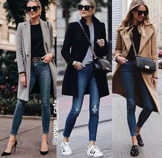 Fashion Jackson 12 or 3 Women Fashion Smart Casual Winter Outfits, Business Casual Outfits, Winter Fashion Outfits, Casual Chic, Stylish Outfits, Fall Outfits, Black Women Fashion, Look Fashion, Womens Fashion