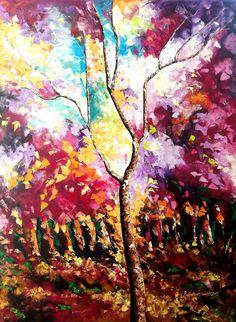 Bahadur-Singh- Season-5-Oil-on-Canvas-Painitng-EK-15-0016-OL-0010-36x48