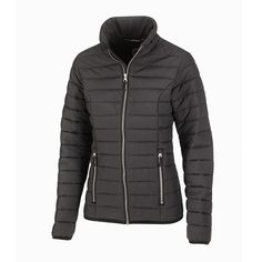 Streamlined thermal comfort – Stockholm is XD Apparel's ideal padded jacket for versatile use as a stand-alone piece or for layering. The long sleeve slim padded jacket is made with Aria Thermore padding which boasts a soft and downy hand, superior warmth-to-weight and the ease of care and fast drying properties of sustainable recycled polyester. Tight quilting lines keep the jacket close to the body, while shaped seams provide a more fitted look for women.