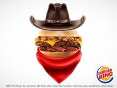 Nefis barbekü sos ve füme etle hazırlanan Texas Smokehouse Burger® lezzetine karşı durmak çok zor! :)