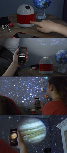 Sleeping Under The Stars: Luna, A Smartphone Enabled Personal Planetarium Projector