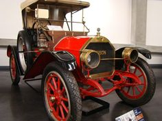 1909 Hudson Model 20  Brought to you by the car insurance agents at House of Insurance Eugene, Oregon