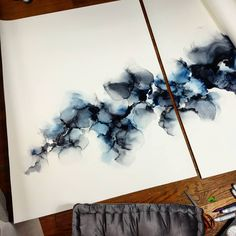 🎉🎉🎉 GIVEAWAY 🎉🎉🎉 I thought the best way to start off 2019 would be with a giveaway! I will be adhering this original alcohol ink… Alcohol Ink Painting, Alcohol Ink Art, Triptych, Acrylic Art, Ink Color, Resin Art, Art Inspo, Arts And Crafts, Art Prints