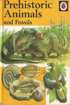 Prehistoric Animals and Fossils by RetroBooksUK on Etsy, £3.00