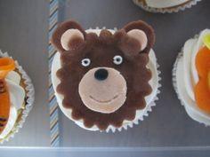 Animal cupcakes bear / Dierencupcakes beer // VAN BRITT