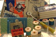 Vintage Sewing Notions Lot Over 40 Items by perfectmomentpillows