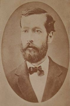 Extremely rare original 1876 cdv photograph of Joseph Lee Haywood, the acting cashier on duty at the Northfield, Minnesota First National Bank who was murdered by the James-Younger Gang after refusing to open the safe.