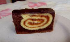 Fotorecept: Roládový zákusok Pudding, Cake, Desserts, Food, Basket, Tailgate Desserts, Deserts, Custard Pudding, Kuchen