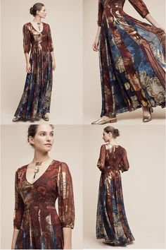 Mykonos Maxi Dress By Hemant & Nandita  Dress, dresses, women's fashion, fashion, maxi dress, holiday dress