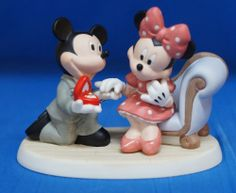 Mickey Minnie Mouse Will You Marry Me? Figurine Disney Precious Moments 132702