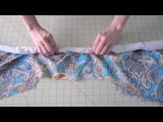 How to Sew - Finish a Lined Sleeveless Dress - YouTube