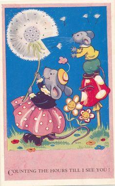 cute postcard - harford