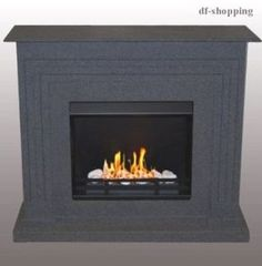Fireplace - Florenz / Use with Bio-Ethanol and Fire Gel / Including Accessories