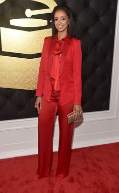Mya from Grammys 2017 Red Carpet Arrivals