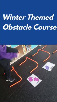 Winter Obstacle Course Create a winter themed obstacle course or motor and sensory path using fun winter themed printables. I love how changing up the printables can change up the entire course! Gross Motor Activities, Preschool Learning Activities, Gross Motor Skills, Toddler Activities, Winter Activities For Kids, Course À Obstacles, Winter Thema, Exercise For Kids, Change