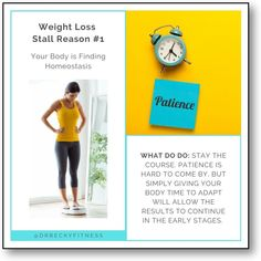 """""""While it may be the challenging thing to do, if your weight loss stalls within the first couple of weeks, the best approach is to stay the course. Patience is hard to come by, but simply giving your body time to adapt will allow the results to continue in the early stages..."""" Weight Loss Goals, Healthy Weight Loss, What You Can Do, Patience, Low Carb, Stalls, Couple, Couples"""